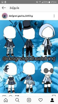 Gacha Life Outfit Ideas : gacha, outfit, ideas, Untitled, Character, Outfits,, Design