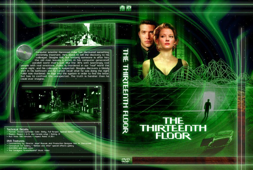 the thirteenth floor movie | The Thirteenth Floor - Movie DVD Custom