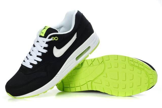 nike air max 87 black green