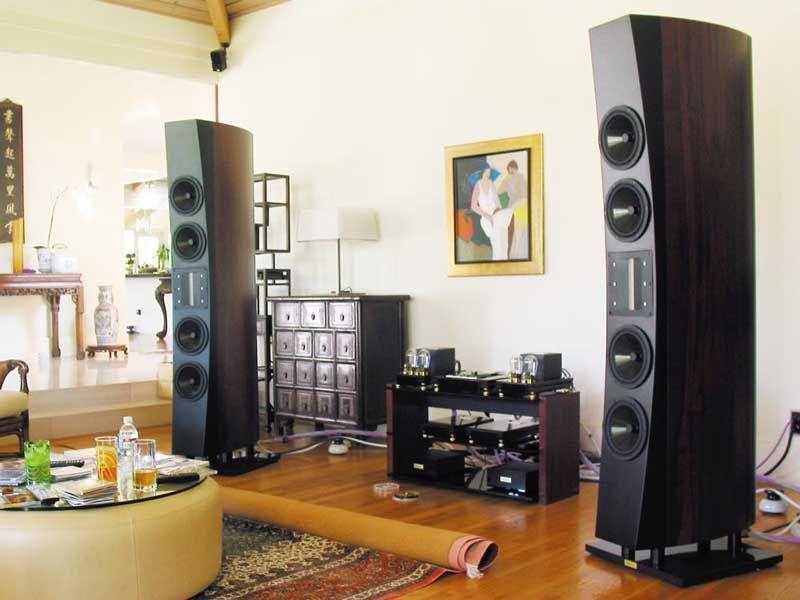 Ancient Audio Wing Speaker Audiophile Listening Room Sound Room Audiophile #sound #system #living #room