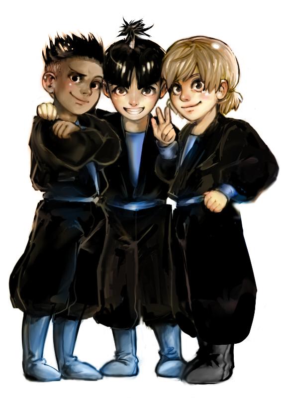 Shuriken school friends by ladystarpanda shuriken - Shuriken school ...