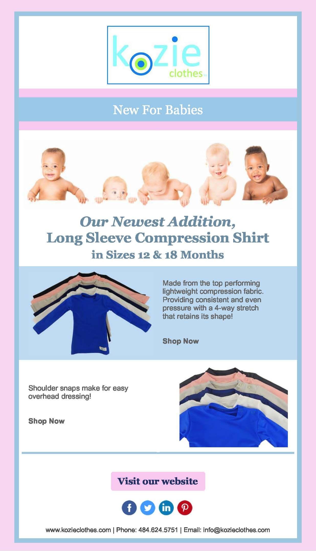 Plain and Simple Kozie Compression Shirt
