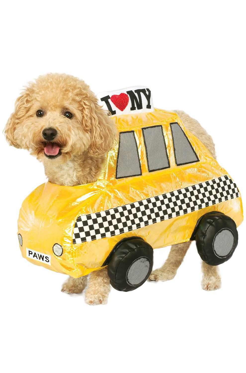 Nyc Taxi Cab Pet Costume Pet Costumes Dog Halloween Costumes