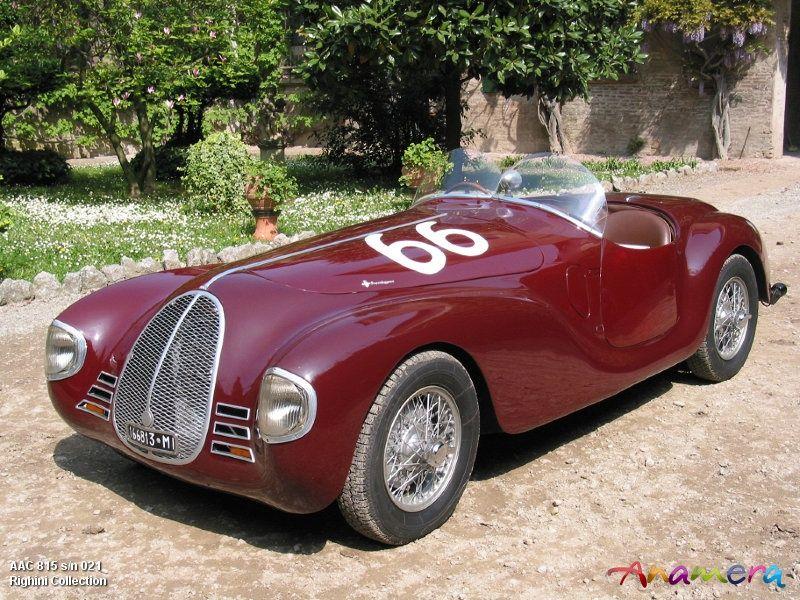 Auto Avio Costruzioni 815 (1940), the first car built by Enzo ...
