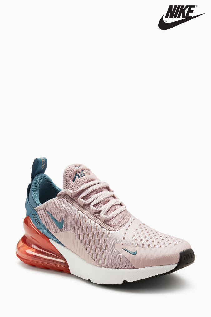 ddb6c2156d Womens Nike Air Max 270 - Pink in 2019 | Shoezzz | Nike air max ...