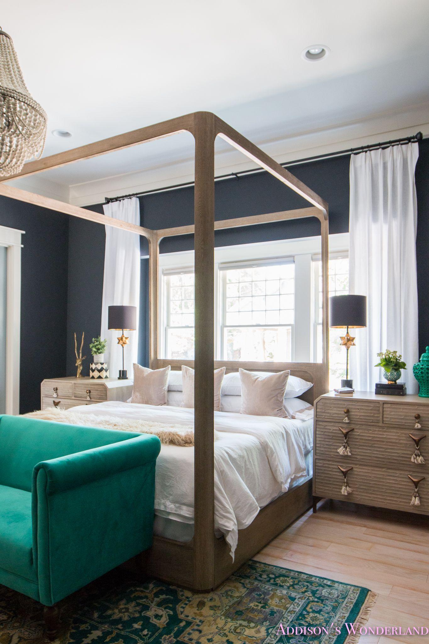Our Updated Black Master Bedroom The Biggest Furniture Sale Of