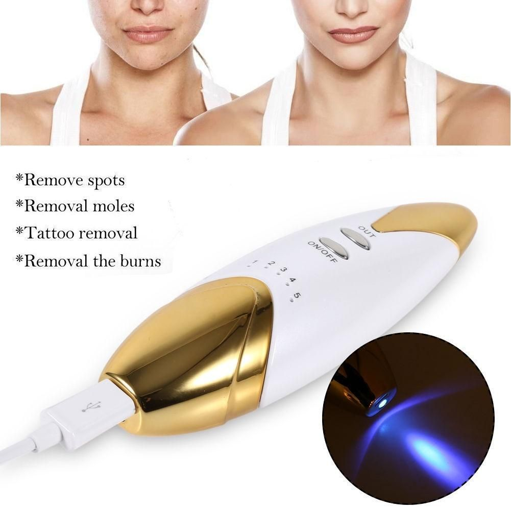 Portable Laser Spot Scars Wart Removal Mole Freckle Tattoo Remove