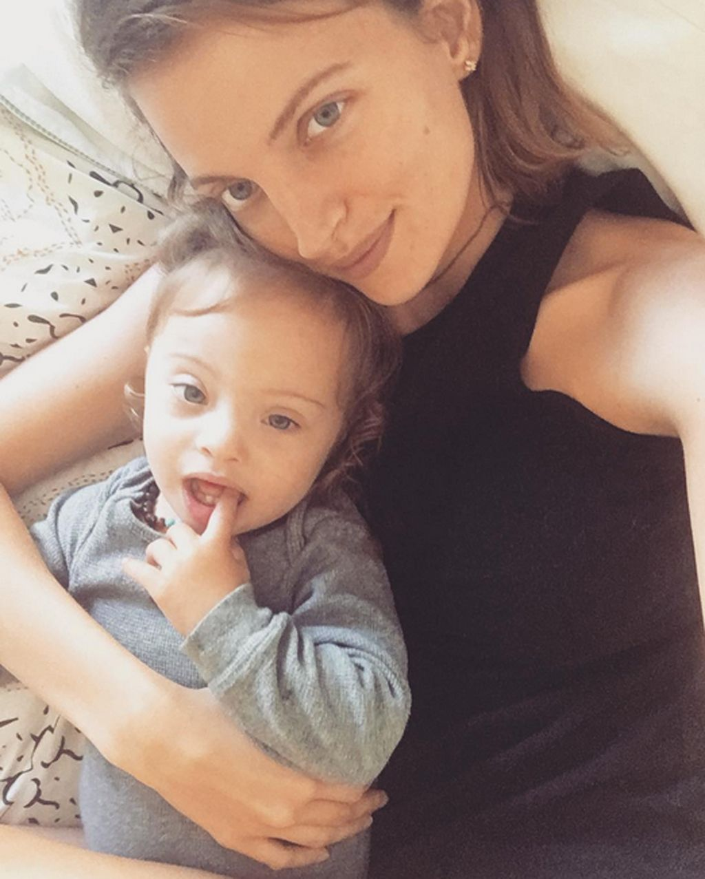 PRECIOUS ANGEL! Model Amanda Booth on Raising a Son with Down Syndrome: 'I Need People to See Him for Who HeIs'