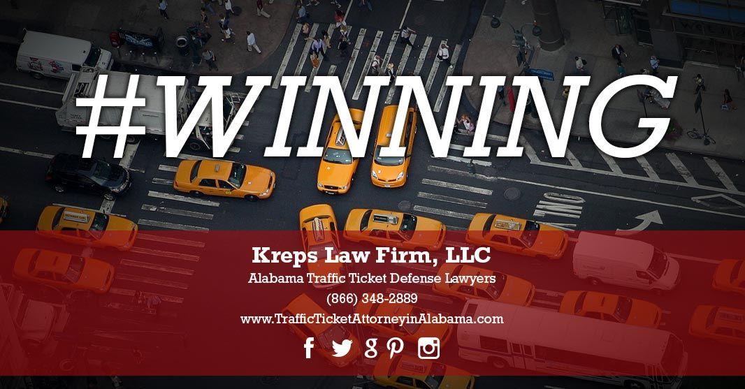 Attorney traffic ticket alabama kreps law firm klf