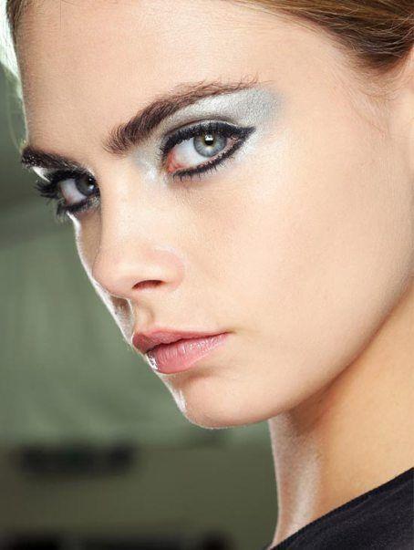 spring 2013 makeup trends - icy eyes  #spring2013makeup #2013springmakeup #makeup #icyeyes