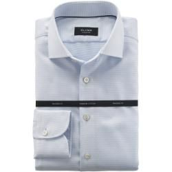 Photo of Olymp Signature Shirt, Tailored Fit, Signature Kent, Light Blue, 40 Olympus