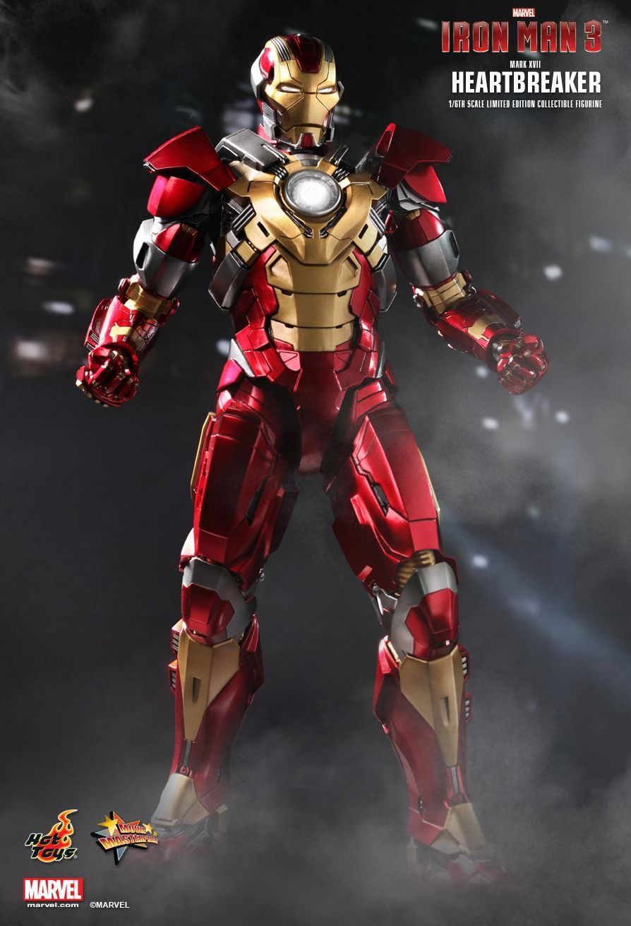 """Crazy Toys Iron Man Tony 12""""//30cm Édition limitée Avengers Figurine Modèle"""