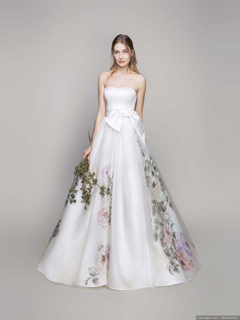55 Robes De Mariée Avec Des Touches De Couleur Robes De