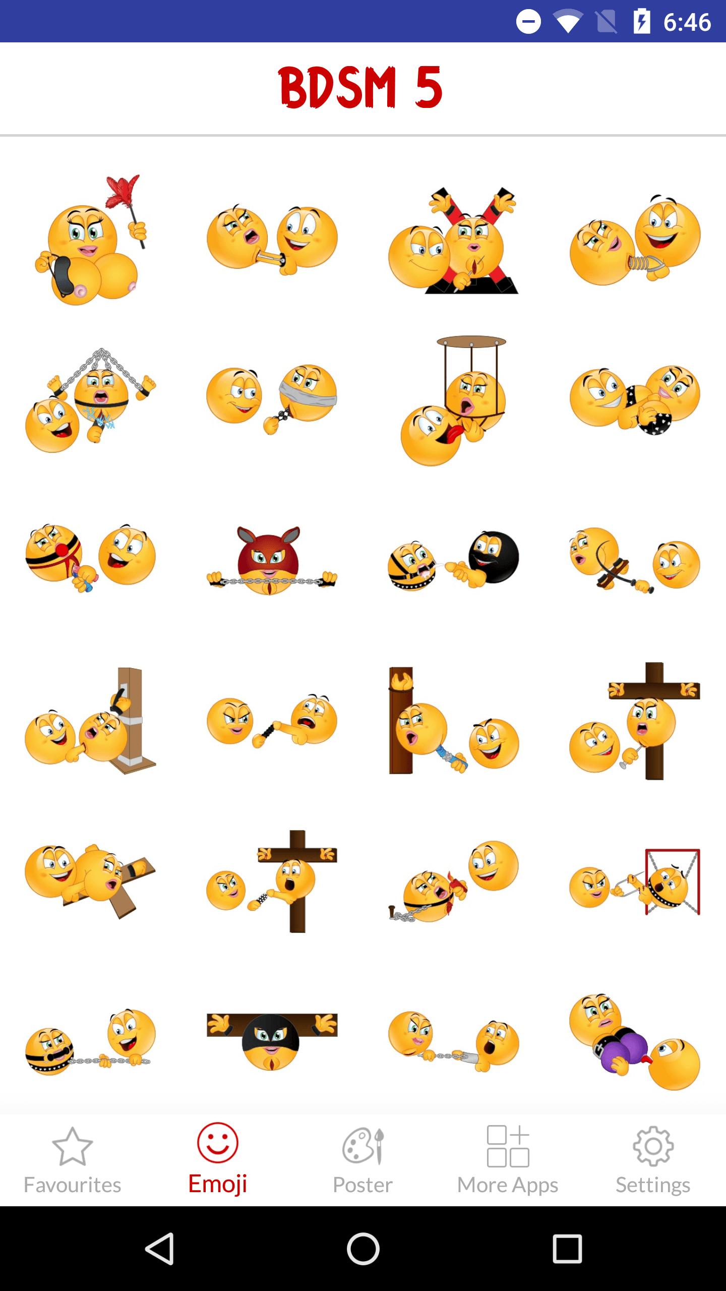 Emoji Bdsm