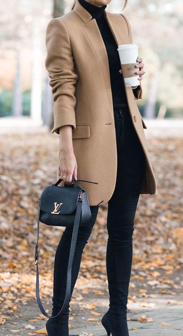 10 outfits elegantes de otoño perfectos para la oficina