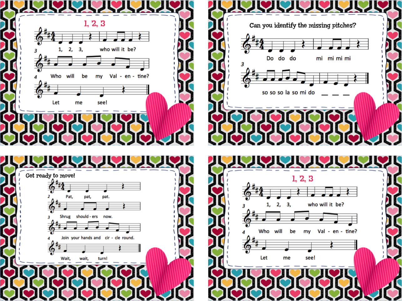 Make Music Rock!: Valentine Fun - song/movement activity with ...