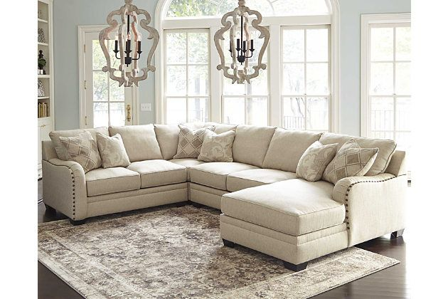 Luxora 4-Piece Sectional by Ashley HomeStore, Tan | Products ...