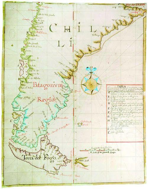 Mapas histricos de Chile  WikicharliE  Historia de