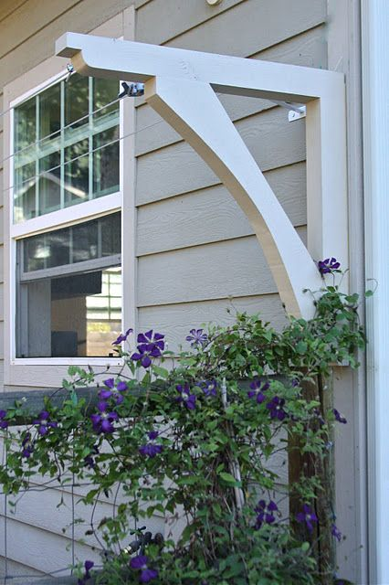 An Outdoor Clothesline Situated Against The House The Blogger Positioned It