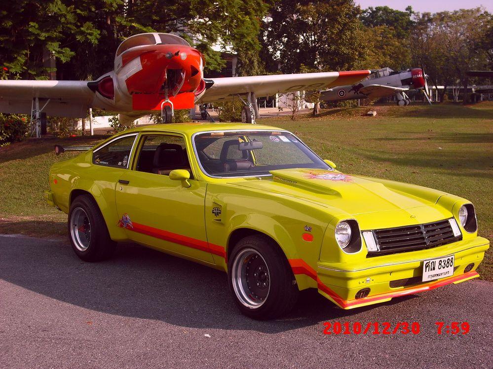 Chevy Vega Car   1974 Chevrolet Vega, At Airforce historic avitation museum., exterior