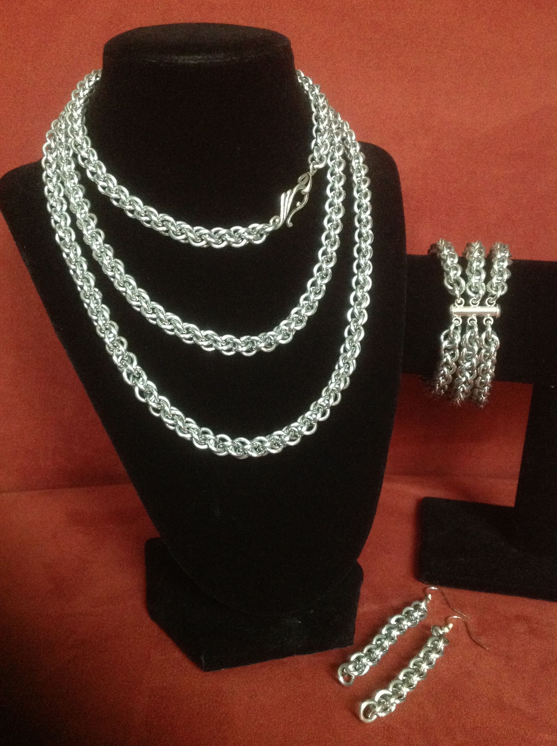 Jens pind metalsmithing pinterest chainmaille