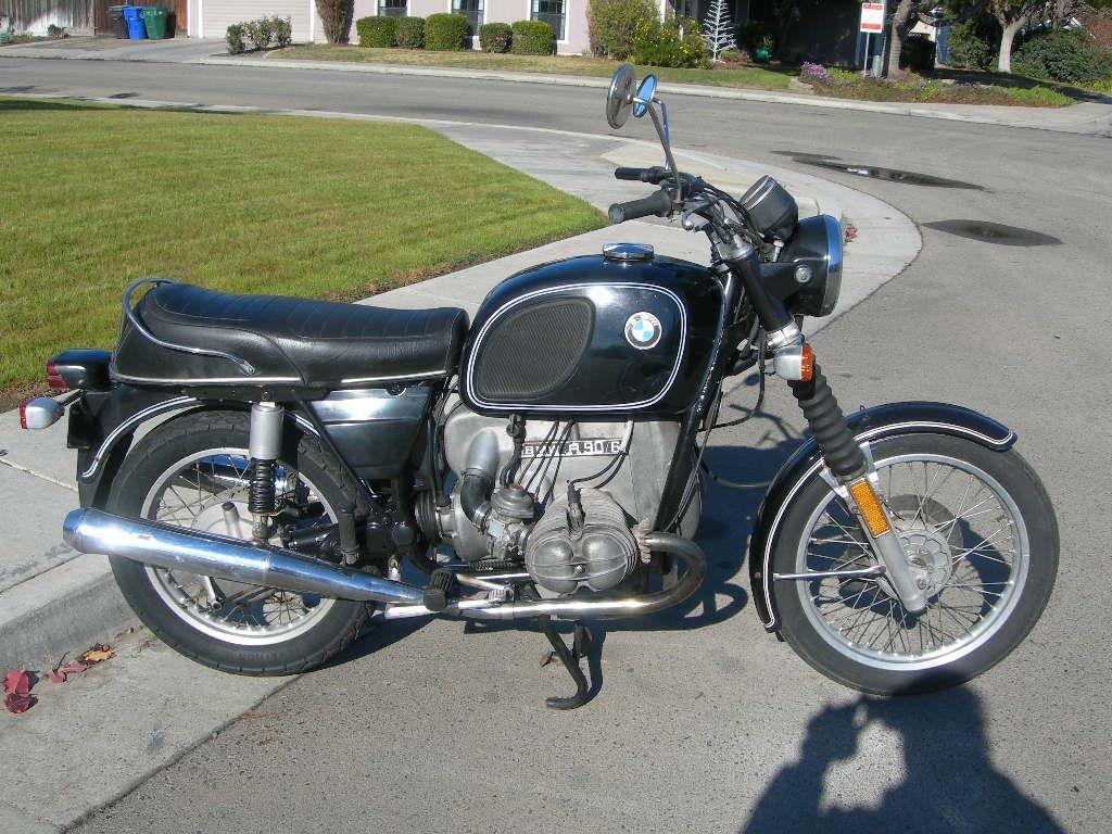 1975 bmw r90/6 -- looks a lot like ours :o) | 2 wheels/4 wheels