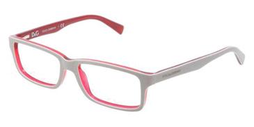 Dolce & Gabbana Eyeglasses DG3148P-2635 Top Gray On Red Demo Lens