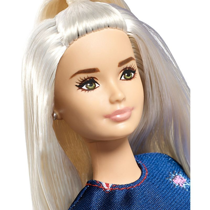 Barbie Fashionista Platinum Pop-Curvy | Barbie 2017/2018 ...