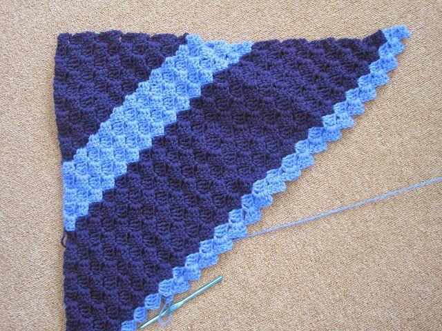Corner to corner crochet pattern \