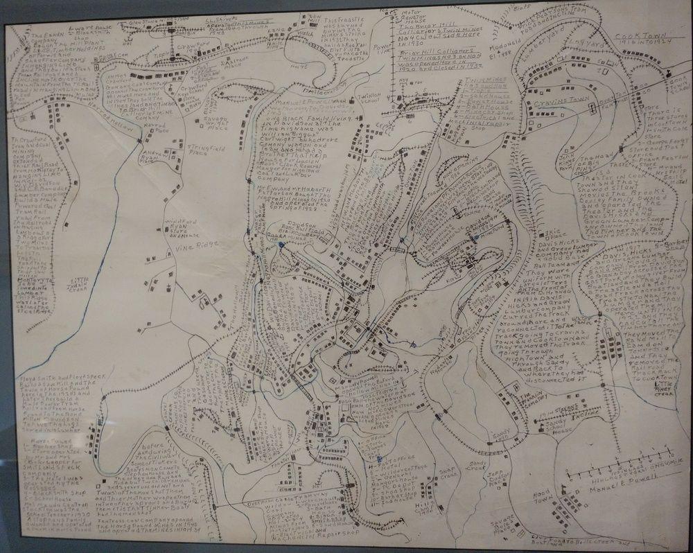 Detailed map of Wilder Davidson communities in