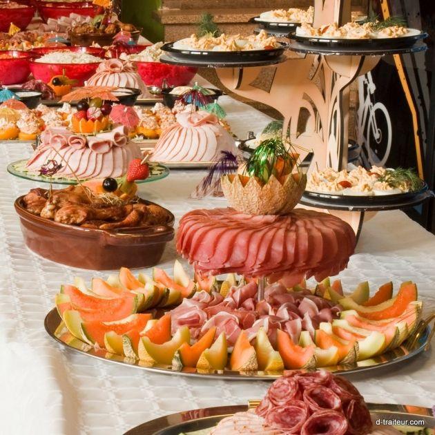 Le Buffet Saint Sylvestre Nouvel An Plat De Charcuterie Recettes De Cuisine Cuisine