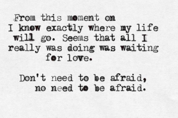 Words Of Love Beatles