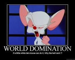 and domination world the Pinky brain