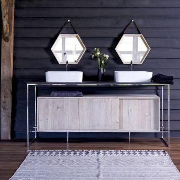 Waschtisch metall - Badezimmermobel design ...