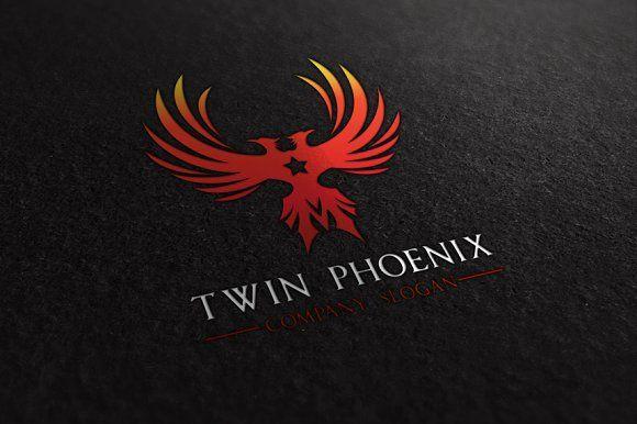 "Phoenix /""Twins/"" Card"
