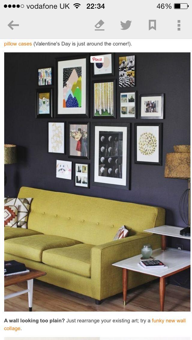 Photo wall   Art   Pinterest   Photo wall, Walls and Living rooms