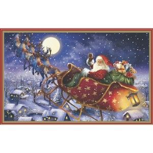 christmas cards 40 ct santa scene card pack with envelopes - Target Photo Christmas Cards