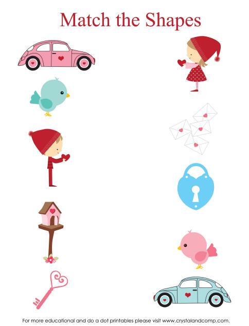 Valentine Heart Preschool Do A Dot Printables