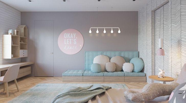 Dos habitaciones infantiles de diseño en tonos soft | Pinterest ...