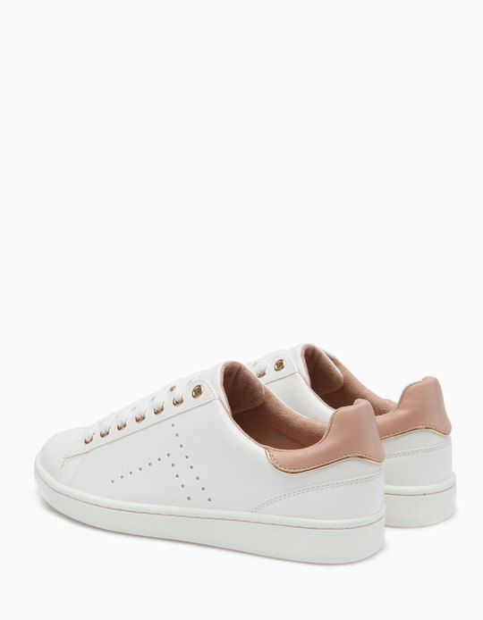 At Stradivarius you'll find 1 White sneakers for woman for just 3990 RSD .