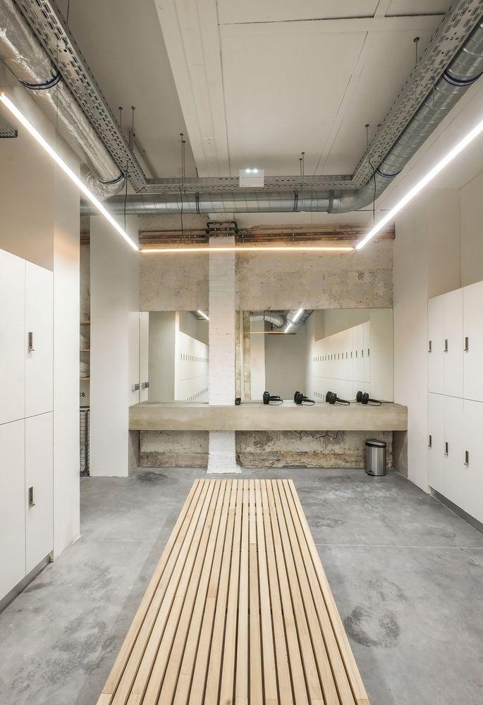 Gallery Of Let S Ride Das Studio 8 Gym Design Interior Gym