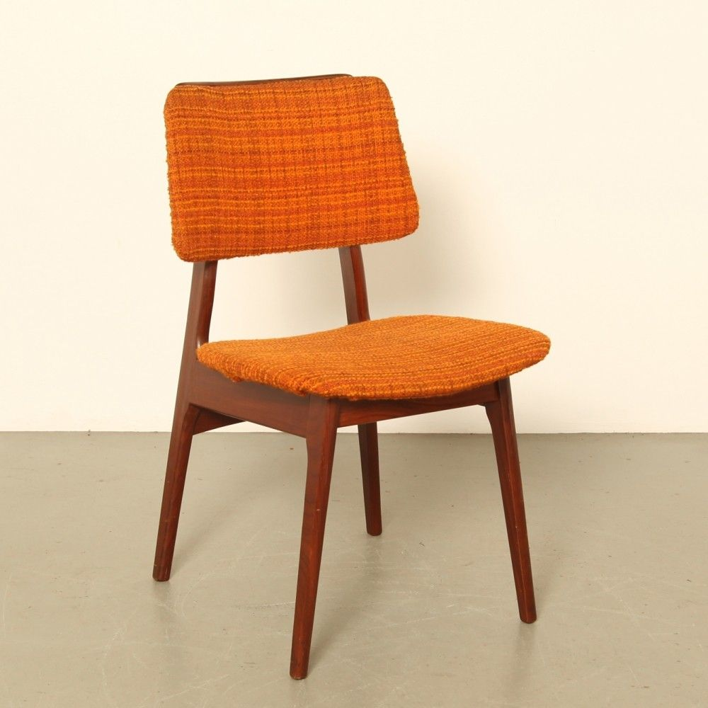4 X Afro Teak Dining Chair 1960s Teak Dining Chairs Chair Dining Chairs