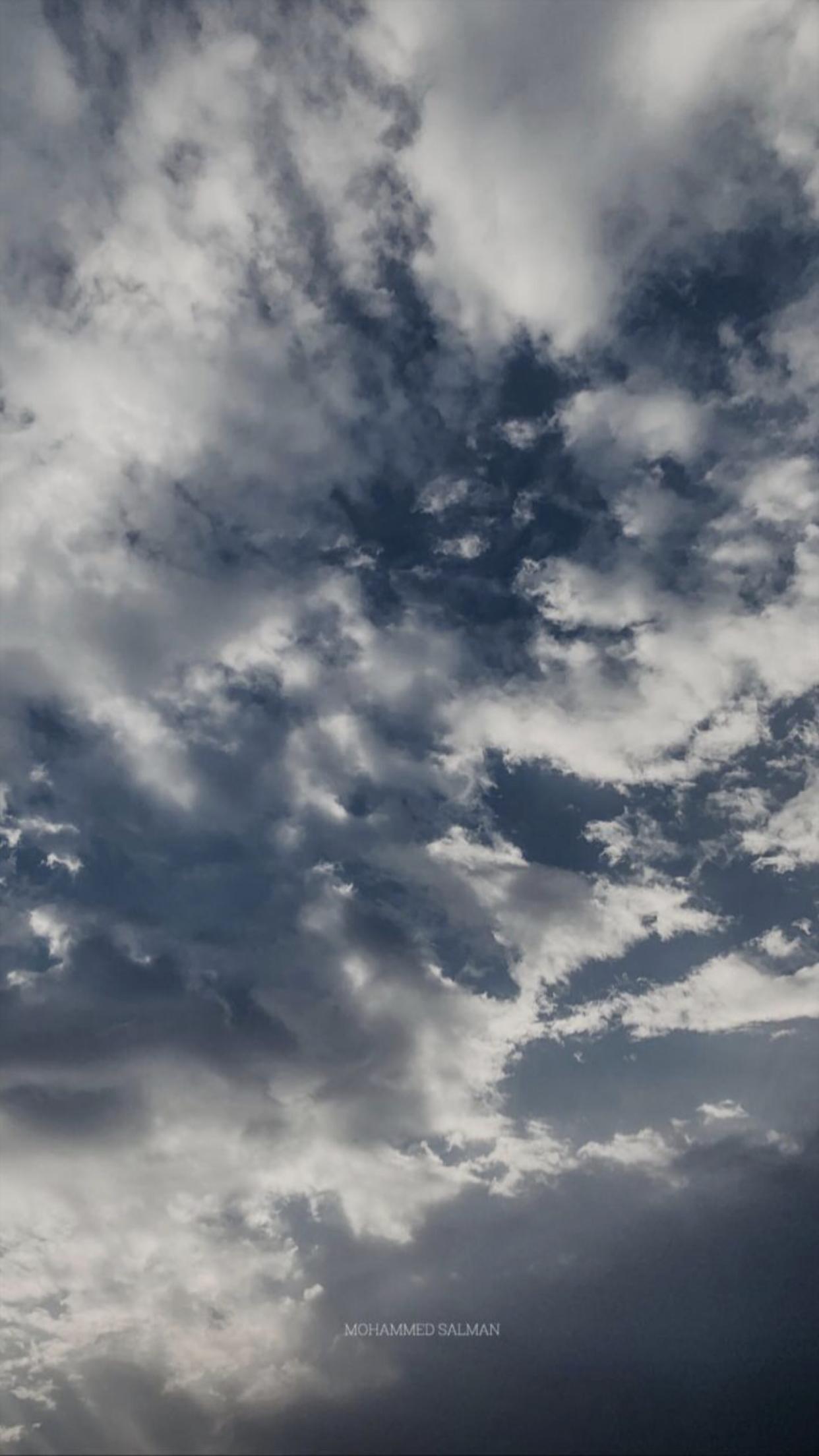 اللۿم عوضني بالأجمل دائما Clouds Outdoor