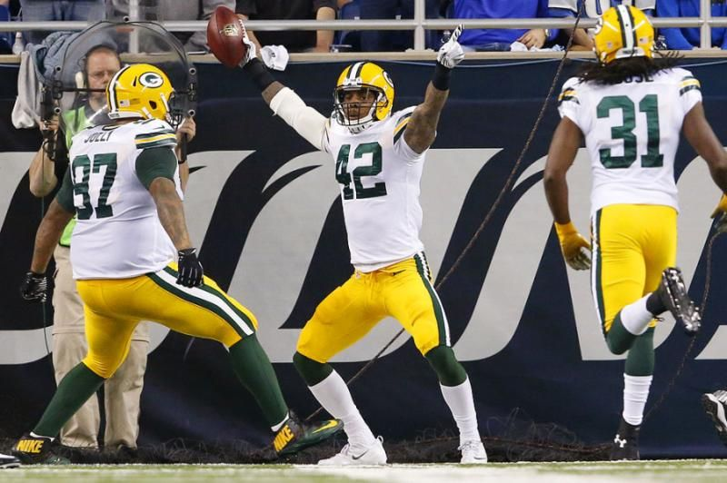 Green Bay Packers strong safety Nfl week
