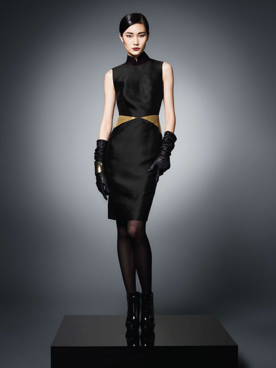 Shanghai Tang Imperial Collection 2013. Sleeveless Silk Dress ...