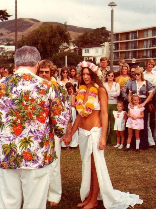 Vintage Hawaiian Wedding