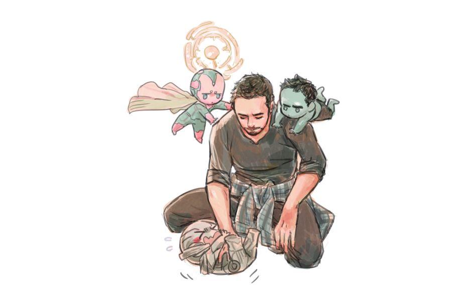 Tony Stark: Machine and Monster Tamer -- by navnao