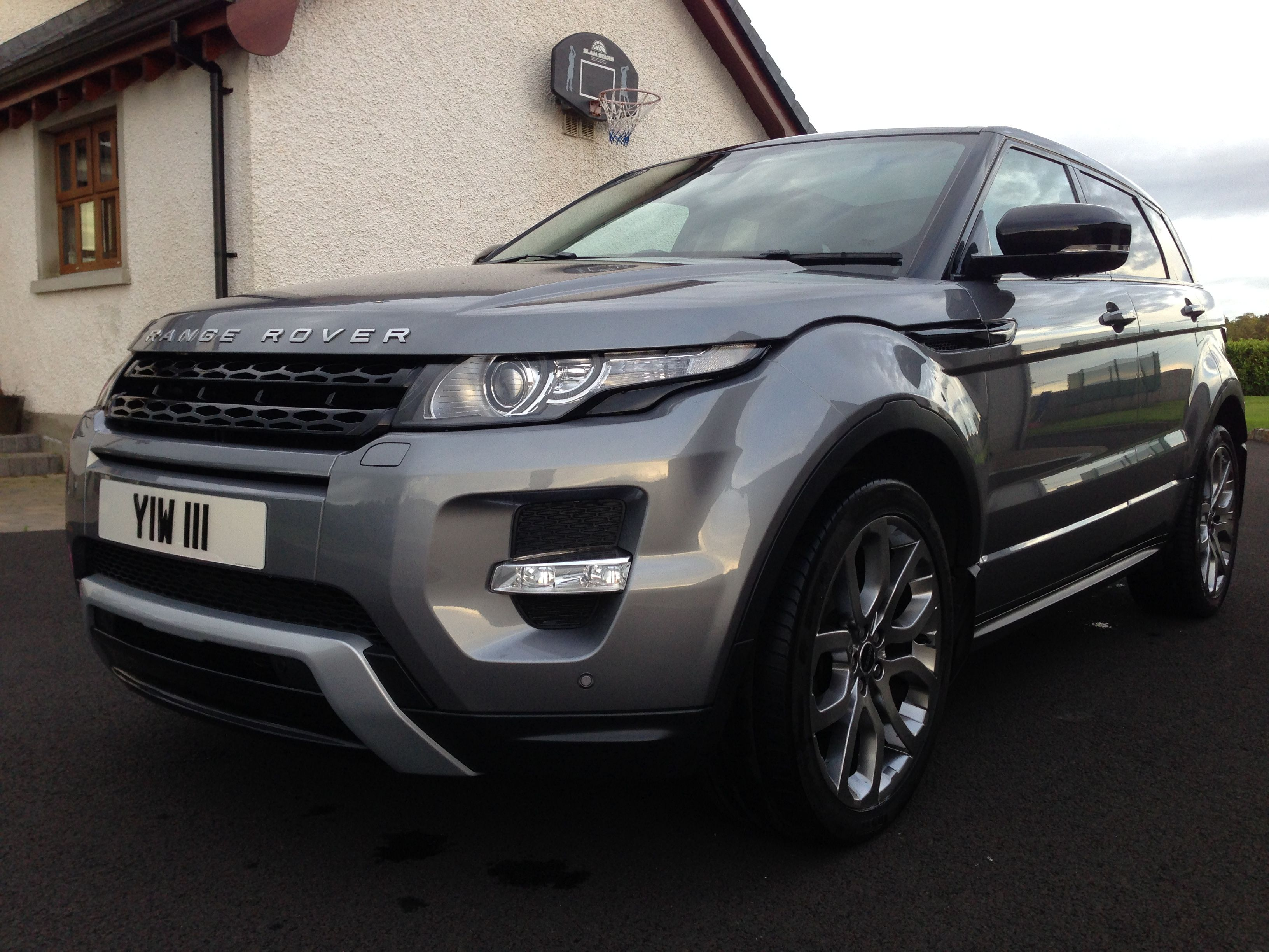 range rover evoque orkney grey black roof panoramic sd4. Black Bedroom Furniture Sets. Home Design Ideas