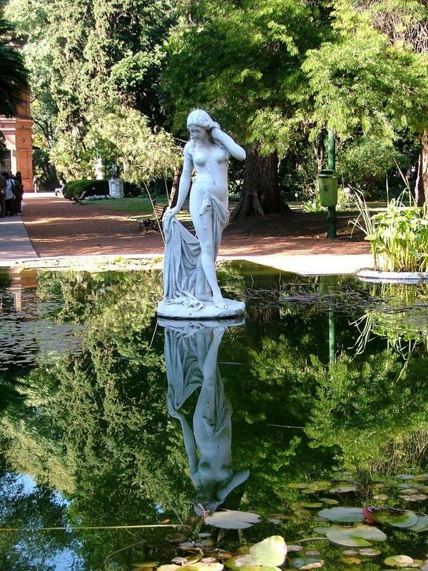 Jardines historicos botanico monumentos y esculturas - Los jardines de lola ...