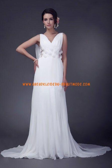 Elegante Günstige Brautkleider aus Chiffon … | brautkleider online ...